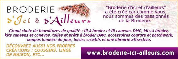BRODERIE D'ICI & D'AILLEURS
