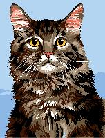 Main Coon, canevas Margot de Paris