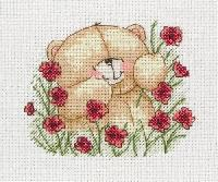 Poppies, kit � broder au point de croix anchor