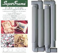 Métier pour quilting 43 X 43 cm, cadre Superframe
