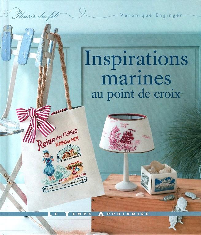 Livres Broderie Point De Croix : Livres Broderie Point De Croix,Inspirations Marines Au Point De ...