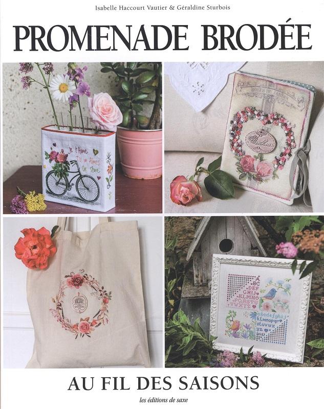 Livres Broderie Point De Croix : Livres Broderie Point De Croix,Promenade Brodée Au Fil Des ...